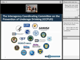 First ICCPUD Community Engagement Webinar on the Sober Truth on Preventing Underage Drinking (STOP) Act and Underage Drinking Prevention