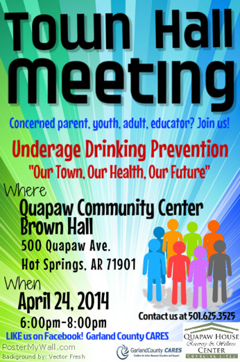Arkansas Town Hall Meeting Empowers Youth to Curb Underage Drinking
